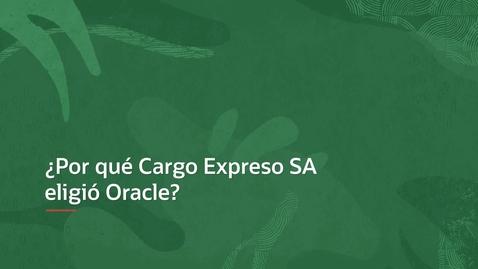 Thumbnail for entry Sales Testimonials - Cargo expresso