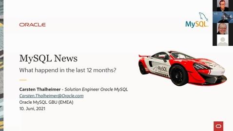 Thumbnail for entry Neuigkeiten in MySQL 8.0