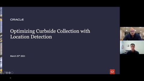 Thumbnail for entry Optimizing Curbside Collection with Location Detection