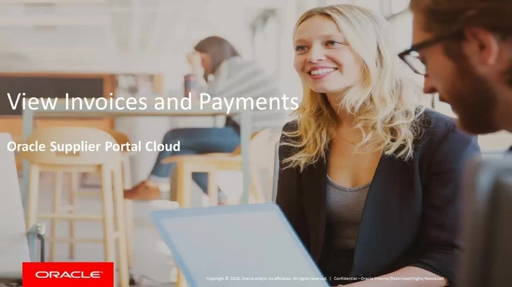 Thumbnail for channel Oracle Supplier Portal Cloud