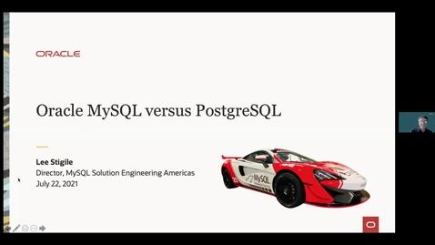 Thumbnail for entry  Oracle MySQL versus Postgres