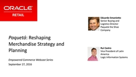 Thumbnail for entry [Webcast] Paqueta the Shoe Company: Reshaping Merchandise Strategy and Planning