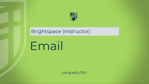 Thumbnail for entry How to use Email tool in Brightspace