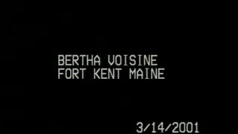 Thumbnail for entry Bertha Voisine