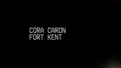Thumbnail for entry Cora Caron