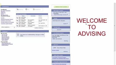 Thumbnail for entry Advising