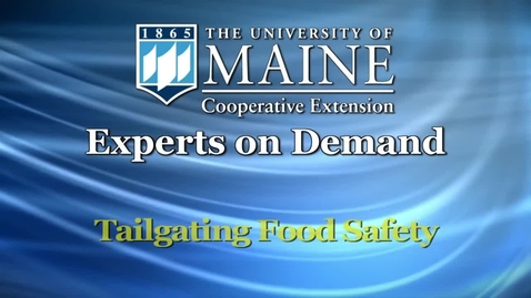Thumbnail for entry How Do I Keep Food Safe at Tailgating Events?
