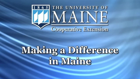 Thumbnail for entry Partnering with the Maine Department of Agriculture