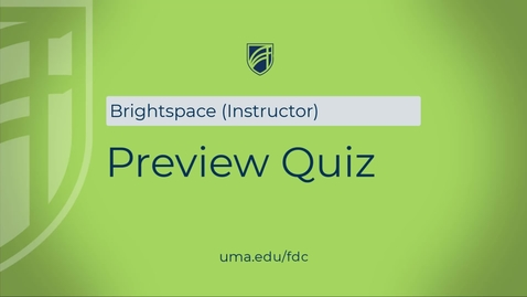 Thumbnail for entry Quiz Preview