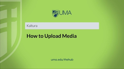 Thumbnail for entry How to Upload Media