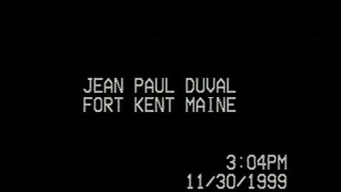 Thumbnail for entry Jean Paul Duval
