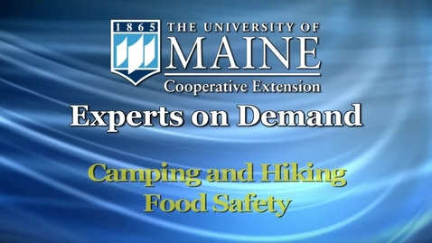 Thumbnail for entry How Do I Keep Food Safe When Camping or Hiking