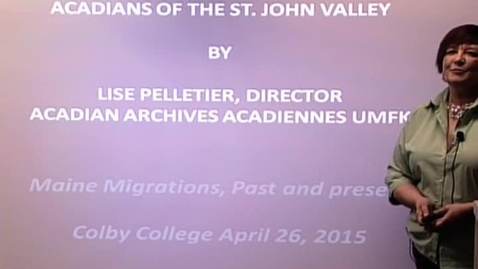 Thumbnail for entry Acadians of the St. John Valley