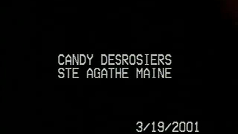 Thumbnail for entry Candy Desrosiers