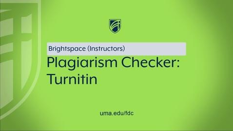 Thumbnail for entry Turnitin
