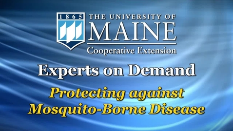 Thumbnail for entry Protecting Yourself from Mosquito-borne Disease