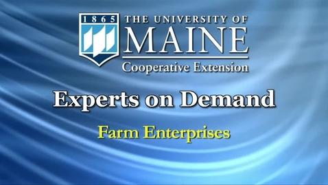 Thumbnail for entry New Farmers: What Is a Farm Enterprise?