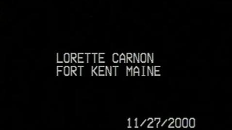 Thumbnail for entry Lorette Pelletier Caron