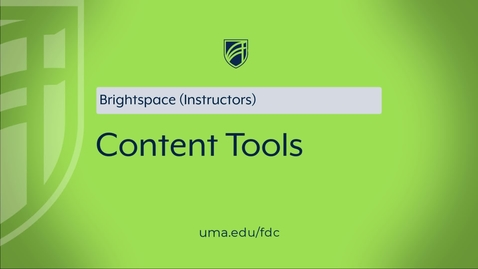 Thumbnail for entry Content Tool