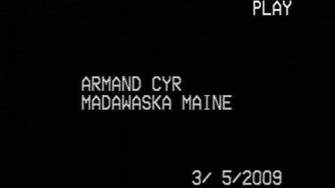 Thumbnail for entry Armand Cyr