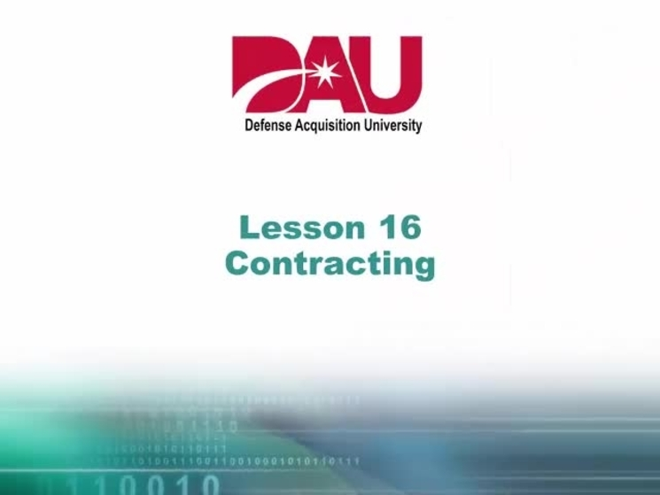isa101 lesson 17 it contracting homework defense acquisition