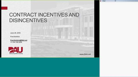 Thumbnail for entry Contracts Incentives and Disincentives