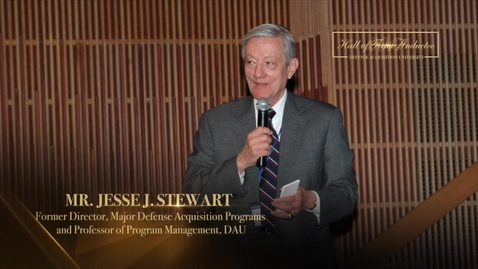 Thumbnail for entry Jesse Stewart Hall of Fame Induction 2017