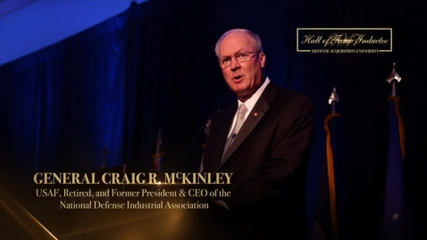 Thumbnail for entry Craig McKinley Acker Award Presentation 2017