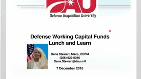 Thumbnail for entry Working Capital Funds