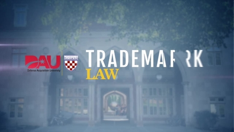 Thumbnail for entry Trademark Law
