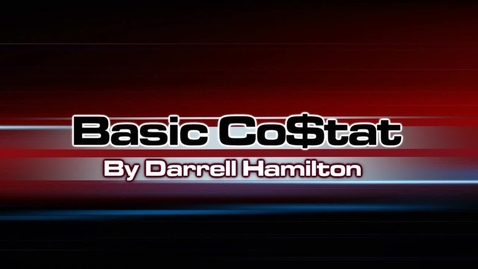 Thumbnail for entry Basic Costat Regression Part 4 - Model Selection