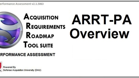 Thumbnail for entry ARRT-Performance Assessment Overview