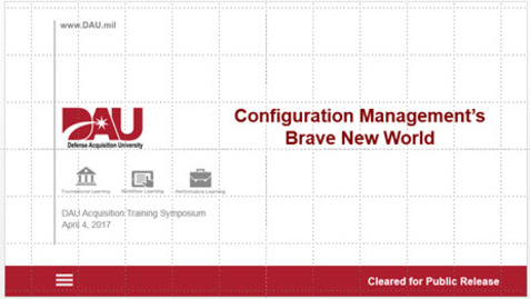 Thumbnail for entry Configuration Management's Brave New World