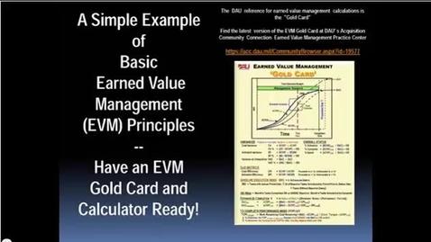 Thumbnail for entry Basic EVM Part 1