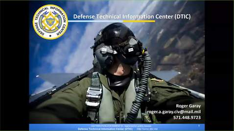 Thumbnail for entry Defense Technical Information Center Tools DAU LandL; FY19-20181017
