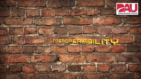 Thumbnail for entry Interoperability