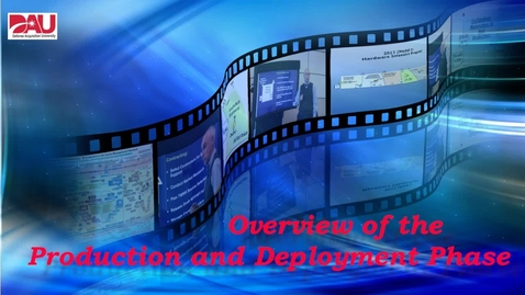 Thumbnail for entry Production & Deployment Phase Overview