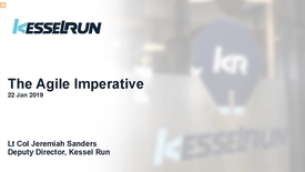 Thumbnail for entry Kessel Run Agile Imperatives for DoD