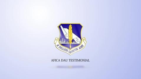 Thumbnail for entry AFICA DAU Testimonial_22 Aug on SSS