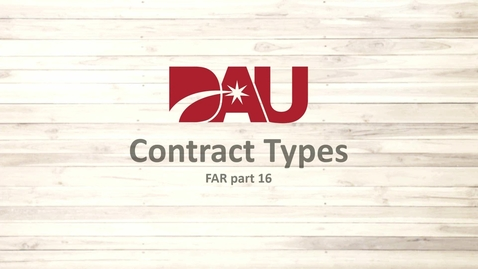 Thumbnail for entry Contract Types