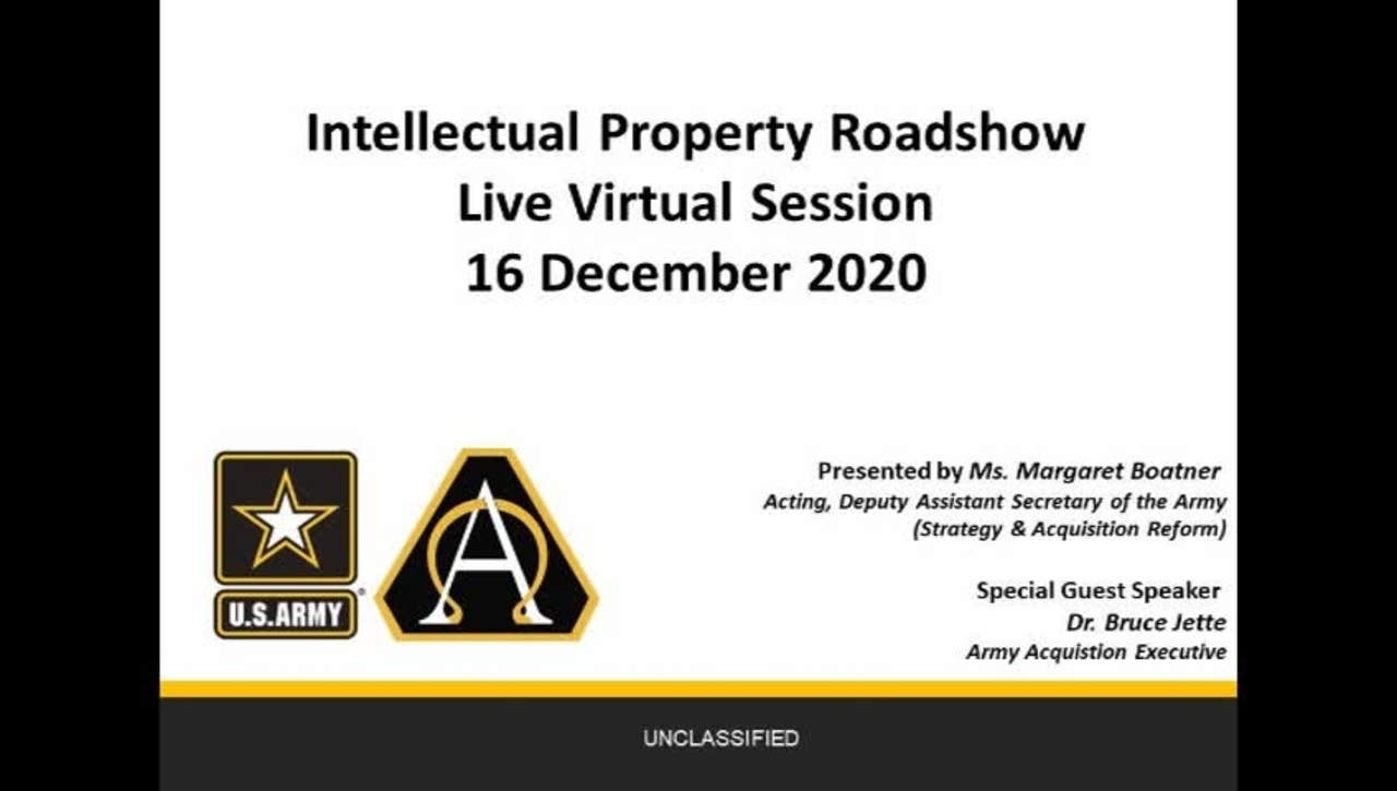 Army IP Road Show
