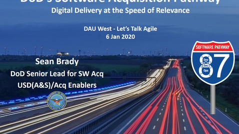 Thumbnail for entry Lets Talk Agile AAF Pathway with Sean Brady