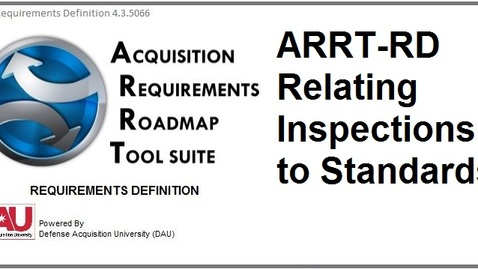 Thumbnail for entry ARRT-RD_Relating-Inspection-to-Standards