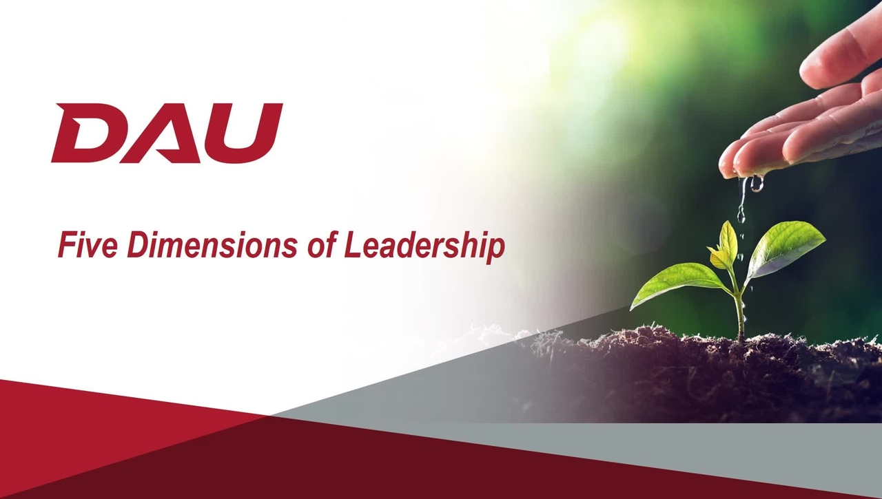 1.0 Introduction to Five Dimensions of Leadership