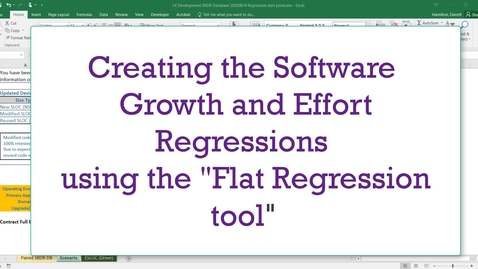 Thumbnail for entry Flat Regression for Growth Effort