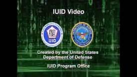 Thumbnail for entry DoD IUID Program