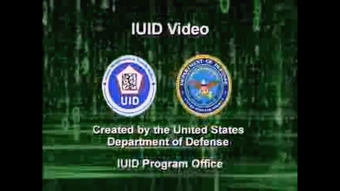 Thumbnail for entry DoD IUID Program