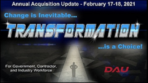 """Thumbnail for entry D2 S6a - """"Cyber Training Range Capabilities of DAU"""""""