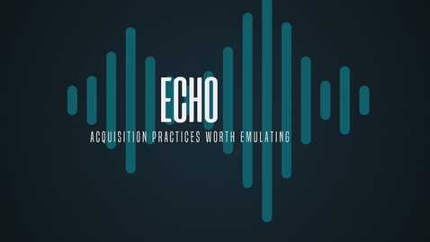 Thumbnail for entry Echo - Delivering Cyber Defensive Capabilities at the Speed of Relevance to the Warfighter