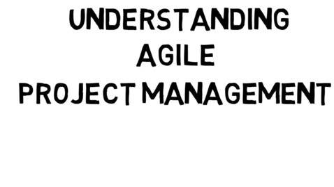 Thumbnail for entry Understanding Agile Project Management
